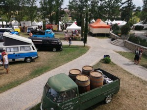 De retour du French VW bus meeting