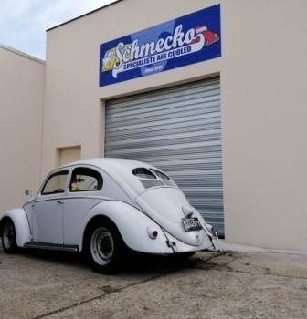 Coccinelle split 1950 for sale