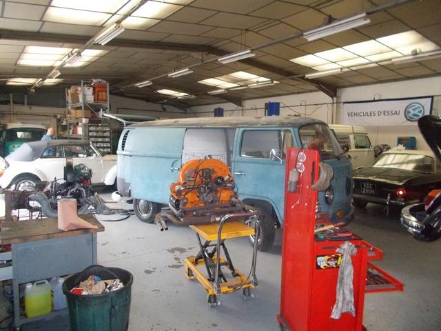 Une semaine bien charg e avec un garage bien rempli for Trouver un garage volkswagen